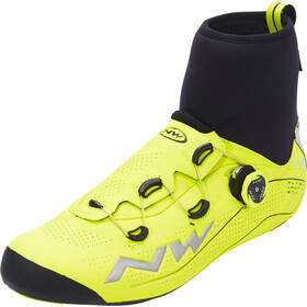 Northwave Flash Arctic GTX Zapatillas de carretera Hombre, yellow fluo